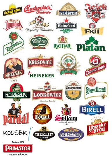 OUR RANGE OF BEERS